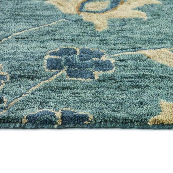 Kaleen Chancellor Blue 8 Ft X 10 Ft Area Rug Cha08 17 810 The Home Depot