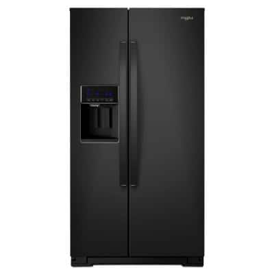 28 cu. ft. Side by Side Refrigerator in Black