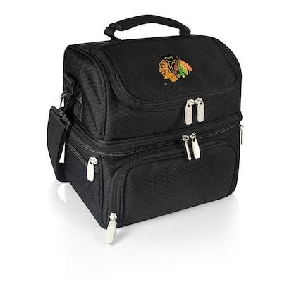 Pranzo Black Chicago Blackhawks Lunch Bag