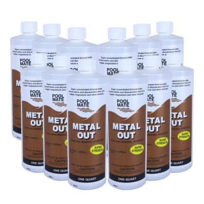 1 qt. Pool Metal Out Stain and Mineral Remover (12-Pack)