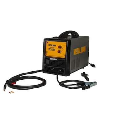 130 Amp, 120-Volt Input Power Inverter Flux Core Wire-Feed Welder