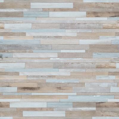 Farmhouse Madison 7.13 in. W x 48.03 in. L Click Lock Rigid Core Luxury Vinyl Plank Flooring (23.77 sq. ft./Case)