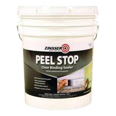 5-gal. Peel Stop Water Base Clear Interior/Exterior Binding Primer and Sealer
