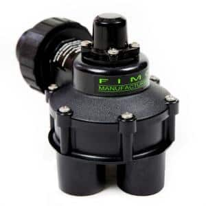 1 in. Mini 4 Outlet Indexing Valve with 2, 3 and 4 Zone Cams