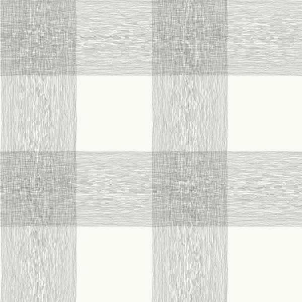 Magnolia Home by Joanna Gaines - Common Thread Black On White Striped Paper Strippable Wallpaper Roll (Covers 56 Sq. Ft.)