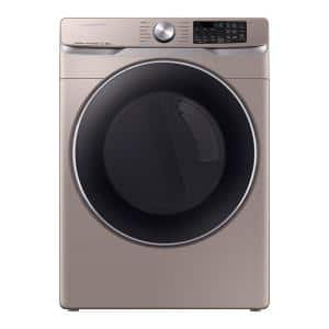 7.5 cu. ft. Champagne Electric Dryer with Steam Sanitize+, ENERGY STAR