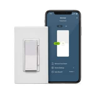 Decora Smart Wi-Fi Dimmer (2nd Gen) No Hub Required, Works with Google, Alexa, HomeKit, Anywhere Companions, White