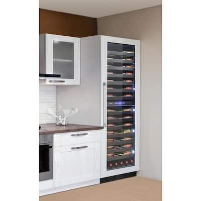 Panel Ready 24 in. 126-Bottle Wine Cooler