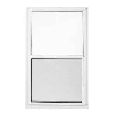 32 in. x 63 in. 2-Track Single Hung Aluminum Storm Window