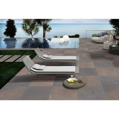 Pedra Azul 24 in. x 24 in. Matte Porcelain Paver Floor Tile (14-Pieces / 56 sq. ft. / pallet)