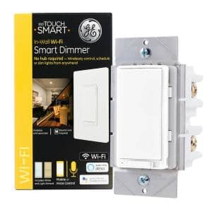 GE Wi-Fi In-Wall Smart Light Dimmer