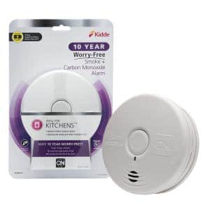 10-Year Worry Free Smoke & Carbon Monoxide Detector, Lithium Battery Powered, Fire Alarm & CO Detector
