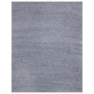 8 ft. 2 in. L x 7 ft. 2 in. W Garage Floor Mat Gray Polypropylene Protective Carpet Mat