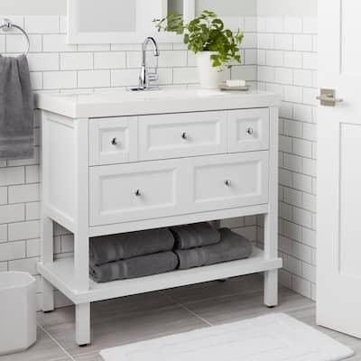 Mandouri Touchless Single Hole Single-Handle High-Arc Bathroom Faucet in Chrome