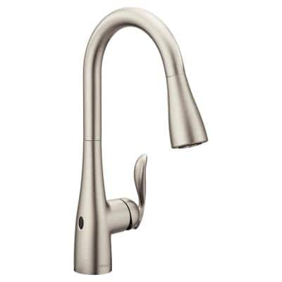 Arbor Touchless Single-Handle Pull-Down Sprayer Kitchen Faucet with MotionSense Wave in Spot Resist Stainless