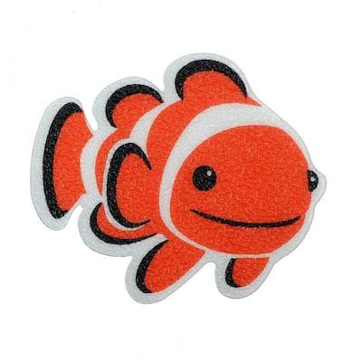 Clownfish Tub Tattoos (5-Count)