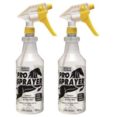 Happy Horse 32 oz. Professional Spray Bottles (2-Pack)