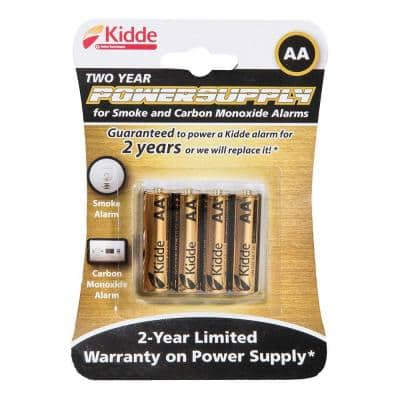 AA Smoke Detector Replacement Batteries