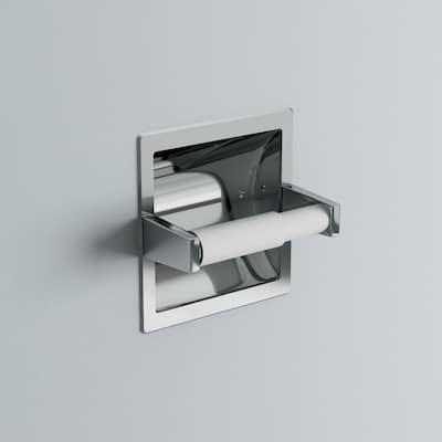 Futura Recessed Toilet Paper Holder in Chrome