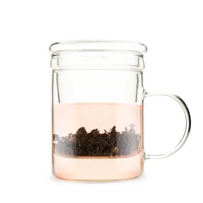 Blake 16 oz. Glass Tea Infuser Mug