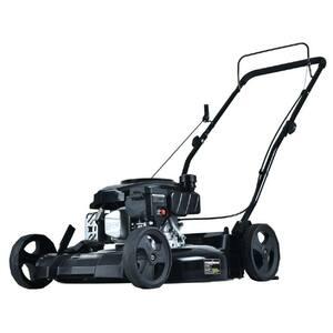 21 in. 170 cc Gas 2-in-1 Walk Behind Push Lawn Mower