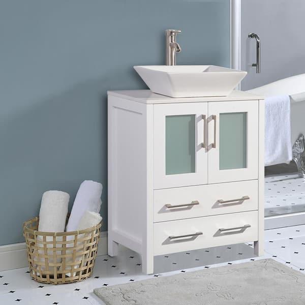 Vanity Art Ravenna 24 In W X 18 5, Bathroom Vanity Sink Tops 24 Inch