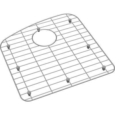 Dayton 16.75 in. x 17.25 in. Bottom Grid for Kitchen Sink in Stainless Steel