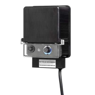 12-Volt Low-Voltage 150-Watt Transformer with Photocell and Timer