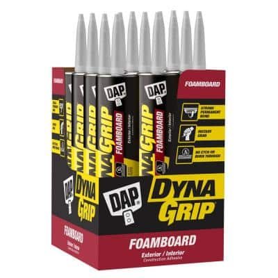 DYNAGRIP 10.3 oz. Foamboard Construction Adhesive (12-Pack)