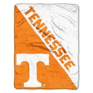 Halftone University of Tennessee Polyester Twin Knitted Blanket
