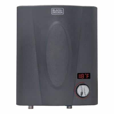 7kW Self-Modulating 1.5 GPM Electric Tankless Water Heater, Point of Use hot water heater electric