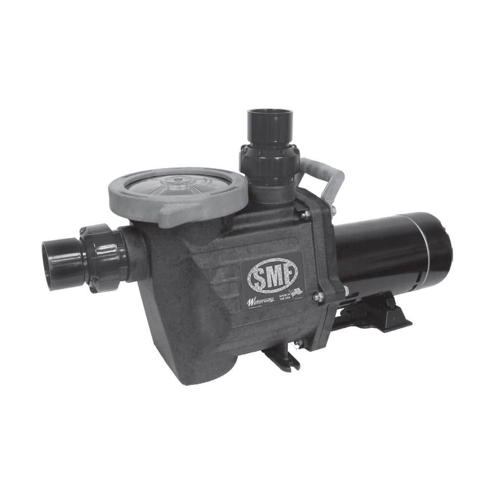 Waterway 1 Hp Smf Single Speed Pool Pump Smf110 The Home Depot