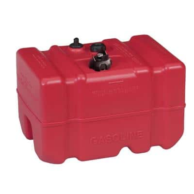 Low Perm Certified Fuel Tank 12 Gal. with 1/4 in. Fuel Pick-Up Adapter and Mechanical Direct Sight Gauge