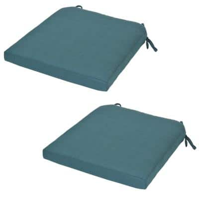 Charlottetown Charleston Replacement Outdoor Dining Chair Cushion (2-Pack)