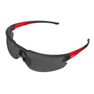 Safety Glasses with Tinted Anti-Scratch Lenses (12-Pack)