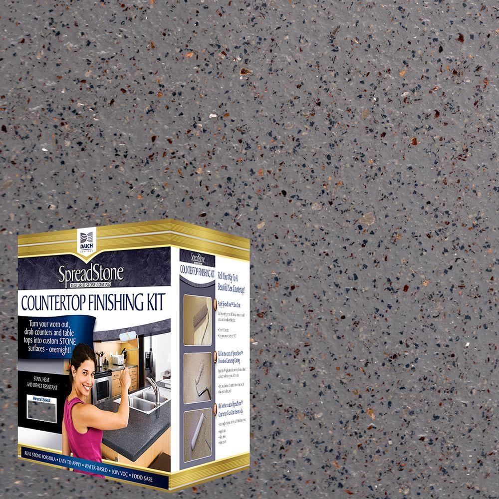 Mineral Select 1 qt. Lodestone Countertop Refinishing Kit