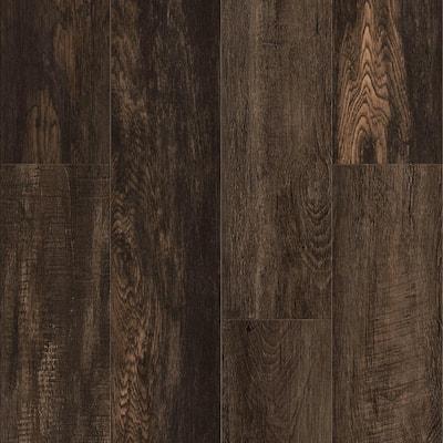Vinyl Pro Classic Shadowed Oak 7.12 in. W x 48 in. L Waterproof Luxury Vinyl Plank Flooring (23.77 sq. ft)
