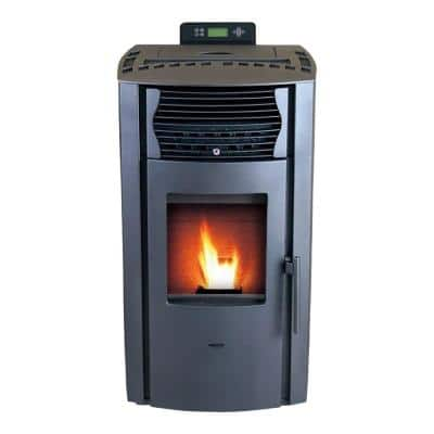 HP50-Grey Pellet Stove 2,200 sq. ft. EPA Certified in Grey