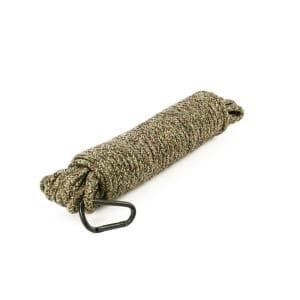 3/8 in. x 75 ft. Camouflage Diamond Braid Polypropylene Rope with Spring Link