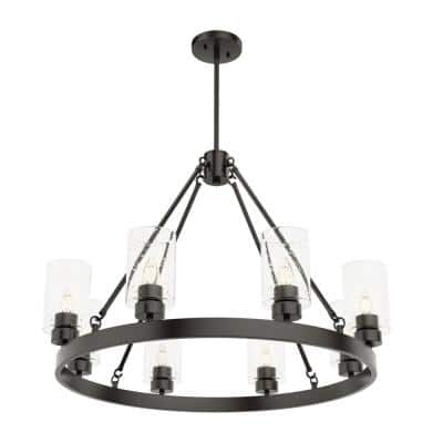 Hartland 8-Light Noble Bronze Chandelier