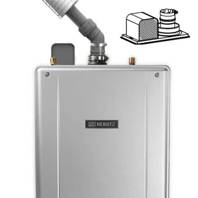 2 in. Stainless Steel Flex Vent Conversion Kit for Tankless Water Heaters