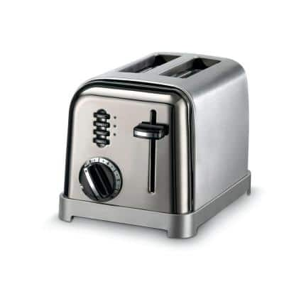 Classic Series 2-Slice Stainless Steel Wide Slot Toaster