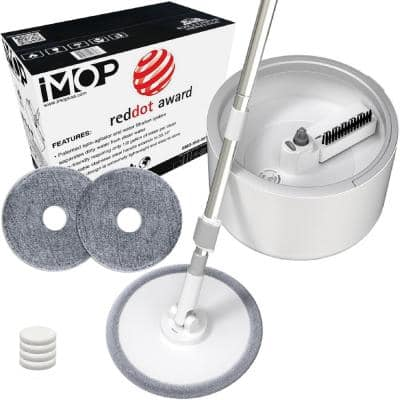 iMop Microfiber Flat Mop with Water Filtration System