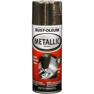11 oz. Gloss Gold Metallic Spray Paint (6-Pack)