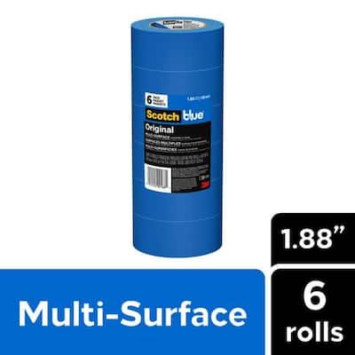 ScotchBlue 1.88 in. x 60 yds. Original Multi-Surface Painter's Tape (6-Pack)