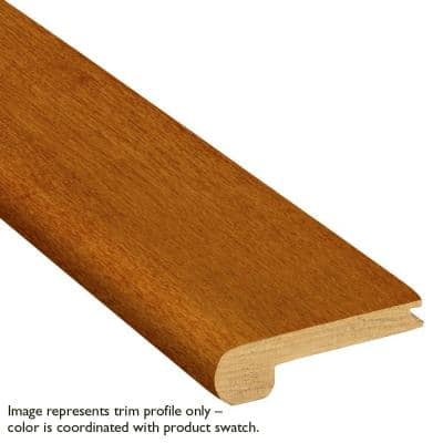 Fawn White Oak 3/4 in. Thick x 3-1/8 in. Wide x 78 in. Length Stair Nose Molding