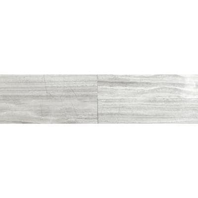 White Oak 6 in. x 24 in. Honed Marble Floor and Wall Tile (10 sq. ft./Case)