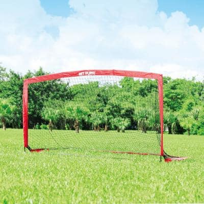 Net Playz Soccer Speedy Playz Medium Instant Portable Soccer Goal