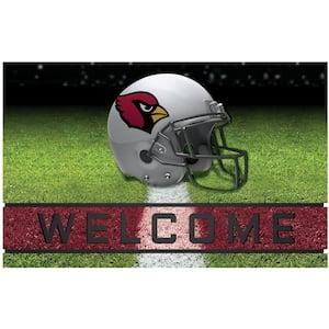 NFL - Arizona Cardinals 18 in. x 30 in. Rubber Door Mat