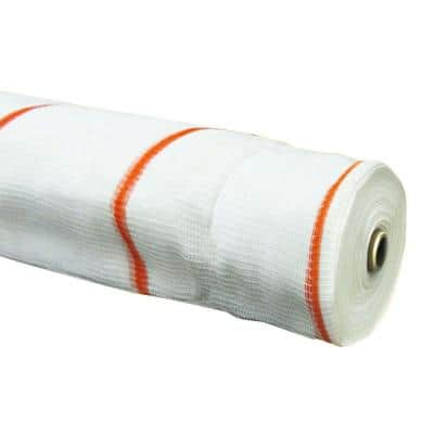 8.6 ft. x 150 ft. White Fire Resistant SafetyShield Safety Netting
